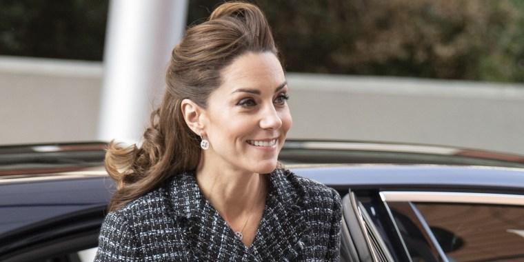 Kate Middleton tweed Dolce & Gabanna suit, Evelina London Children's Hospital