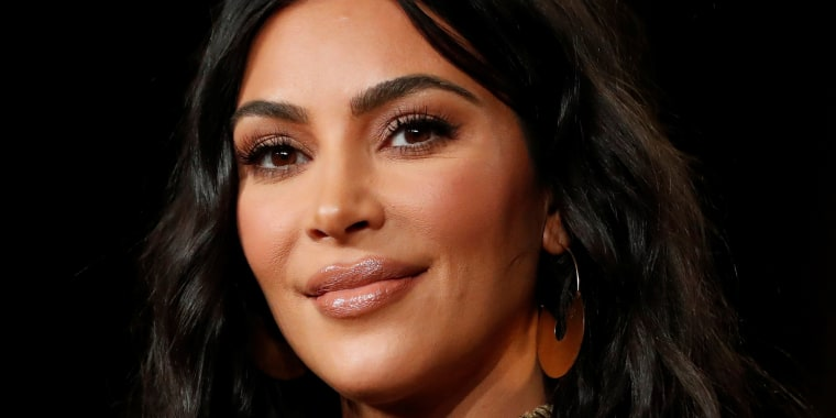 """Image: Television personality Kardashian attends a panel for the documentary """"Kim Kardashian West: The Justice Project"""" during the Winter TCA (Television Critics Association) Press Tour in Pasadena"""