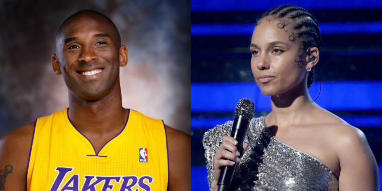 "Singer, songwriter and Grammy host Alicia Keys visited ""The Ellen DeGeneres Show"" and explained how the tribute to Kobe Bryant came together."