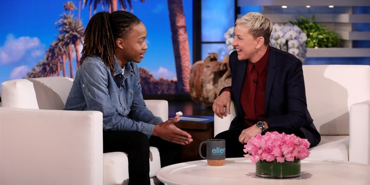 Ellen welcomes high school senior DeAndre Arnold from Mont Belvieu, Texas, who made national news after his school told him he couldn't walk at graduation unless he cuts his dreadlocks or wears them tied up in accordance with their dress code.