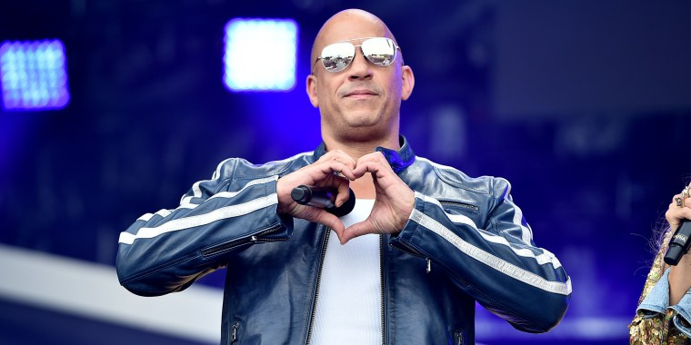 Vin Diesel speaks onstage during Universal Pictures Presents The Road To F9 Concert and Trailer Drop on Jan. 31, 2020 in Miami, Florida.
