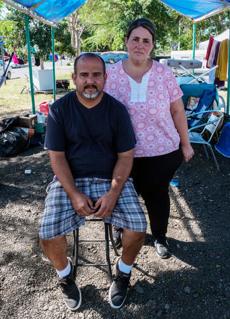 Image: Mayra Rivera and her husband Jose Quinones Nazario