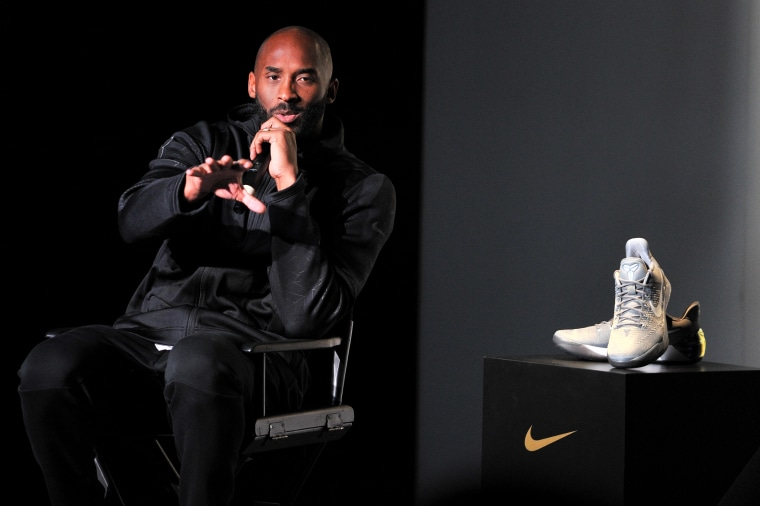Kobe Bryant hosts a Kobe A.D. event at MAMA Gallery in Los Angeles