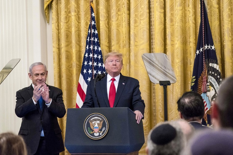Image: President Trump Meets With Israeli PM Netanyahu At The White House