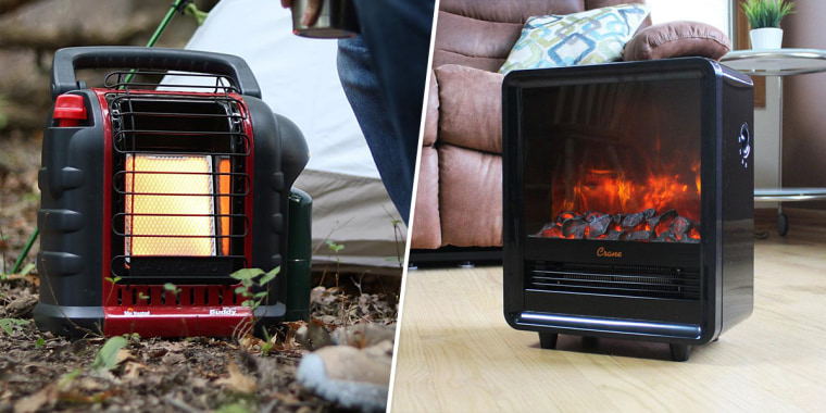 Find efficient and safe space heaters for staying warm, such as electric space heaters, portable, infrared heaters and more.