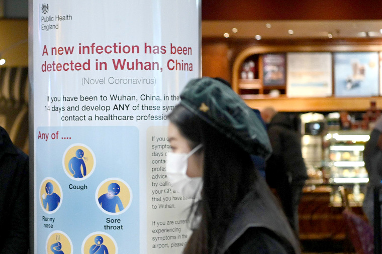 Image: BRITAIN-CHINA-HEALTH-VIRUS-EPIDEMIC