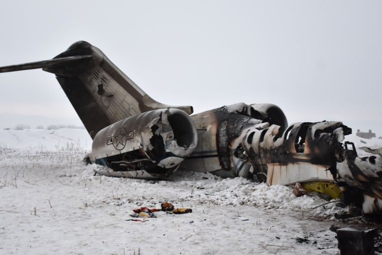 Image: TOPSHOT-AFGHANISTAN-AVIATION-ACCIDENT