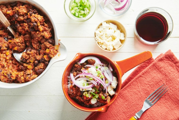 This is the kind of chili that would make an excellent addition to some nachos.