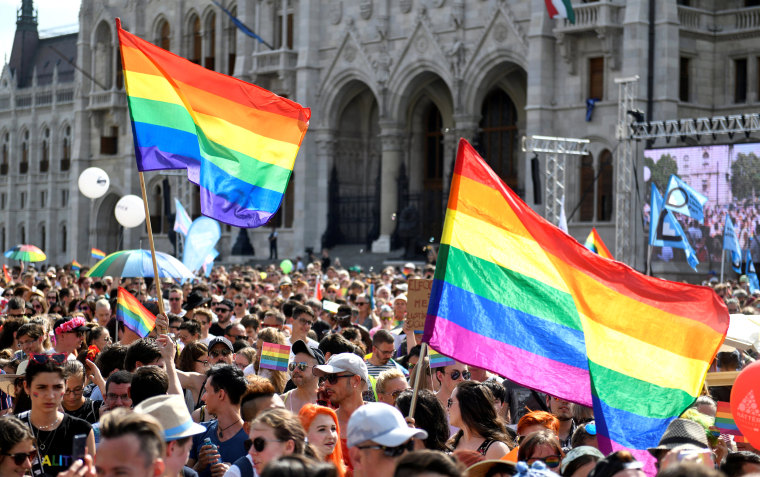 Image: FILE PHOTO: Annual Pride festival in Budapest