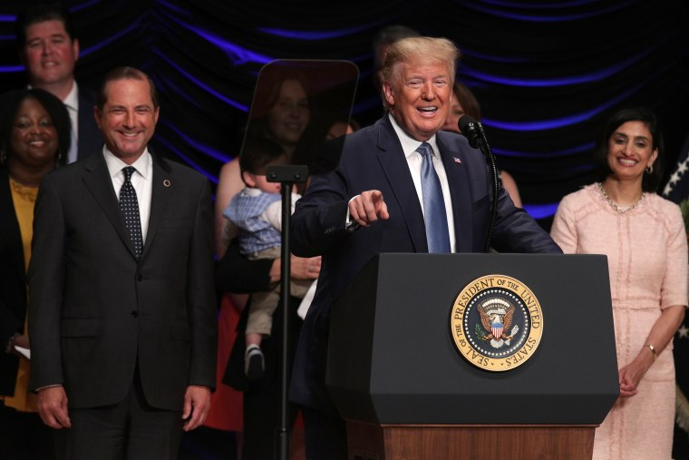 Image: President Donald Trump Delivers Remarks On Advancing American Kidney Health