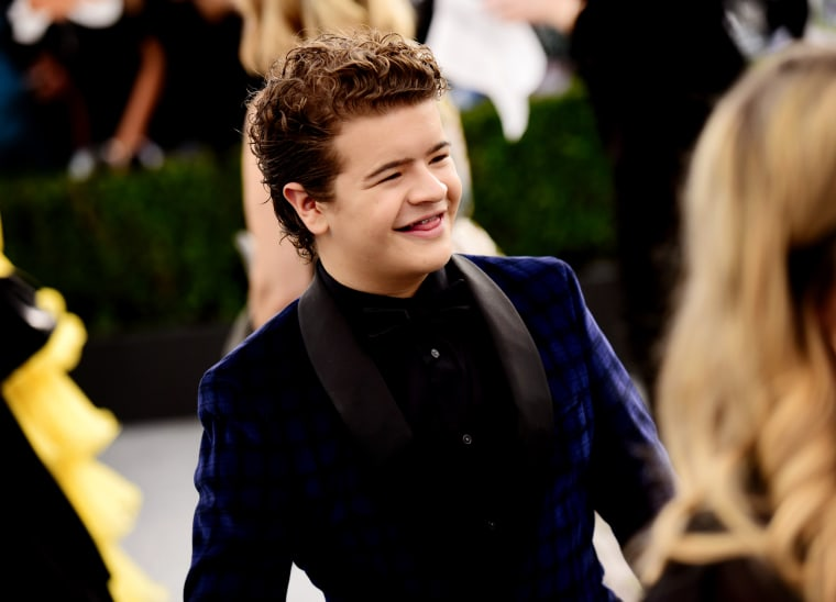 Image: Gaten Matarazzo attends the Screen Actors Guild Awards in Los Angeles on Jan. 19, 2020.