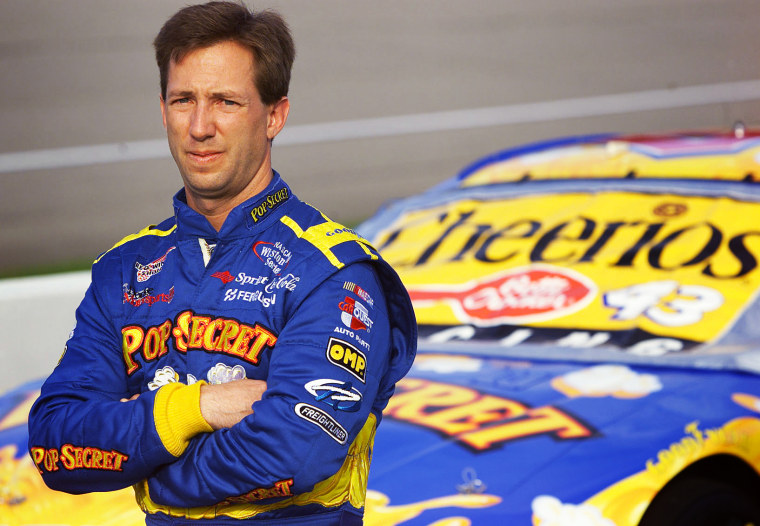 Image: John Andretti at the North Carolina Speedway in Rockingham in 2001.