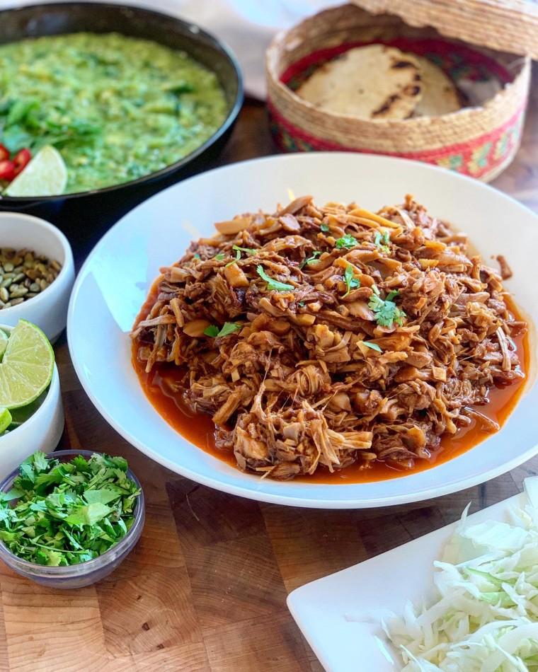 Image: Jackfruit tacos