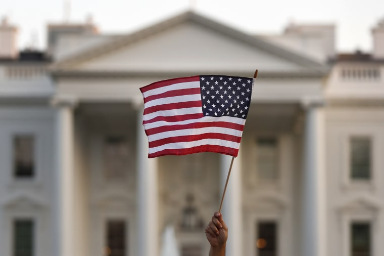Image: American Flag, White House