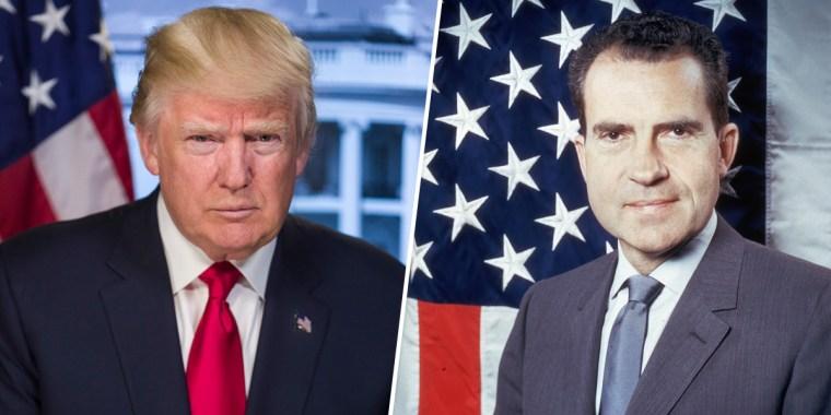 Image: Donald Trump, Richard Nixon