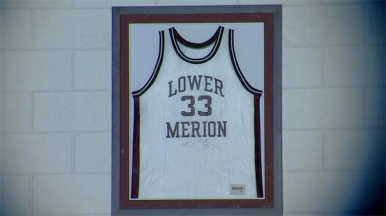 Kobe Bryant's stolen high school jersey returned by collector in China