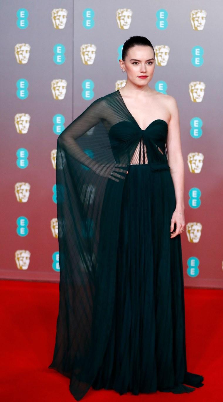Daisy Ridley BAFTAs red carpet 2020