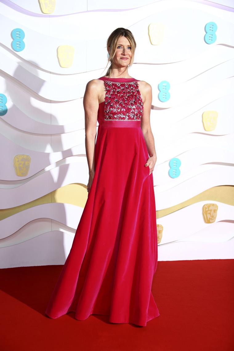 Laura Dern Baftas red carpet