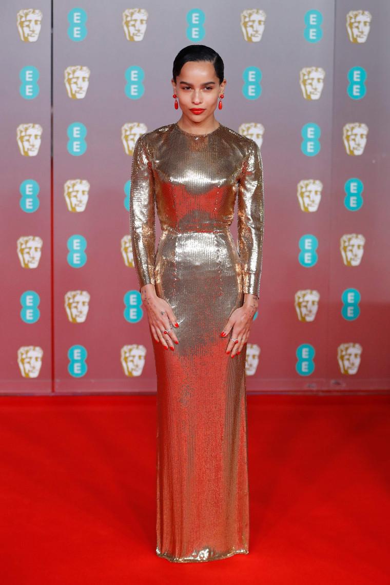 Zoe Kravitz BAFTA