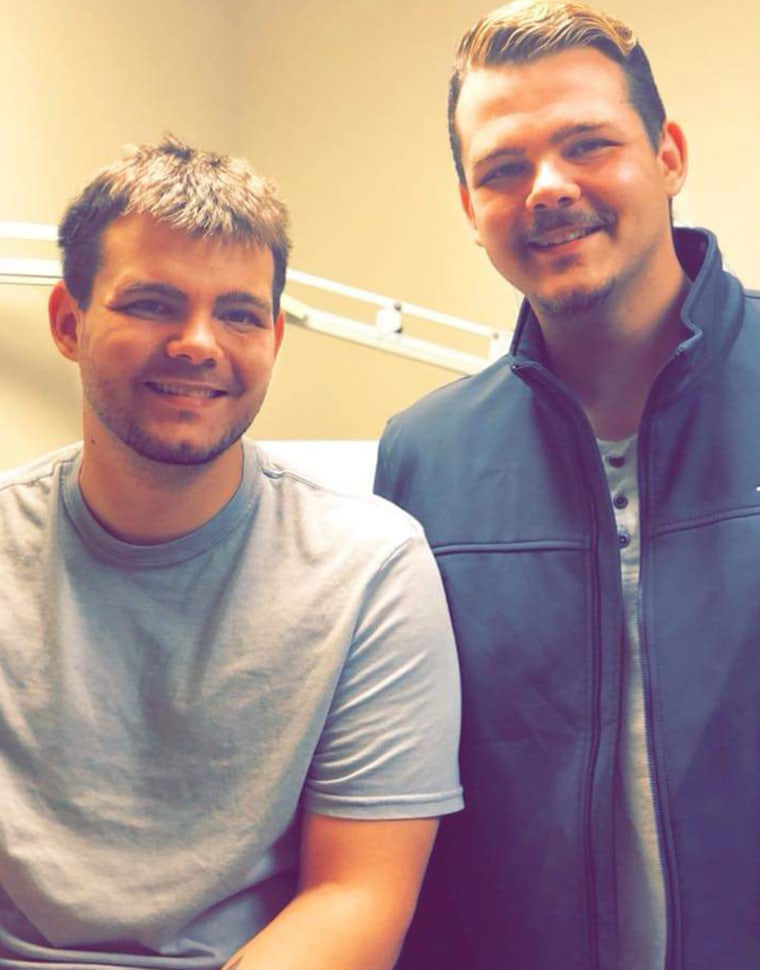 """James Ingley feels glad he could donate his kidney to twin Dalton and says it was """"special and rewarding."""""""