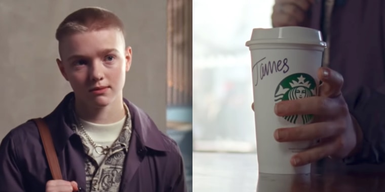 Starbucks is receiving praise for a new ad featuring a transgender teen feeling welcome at the coffee chain.
