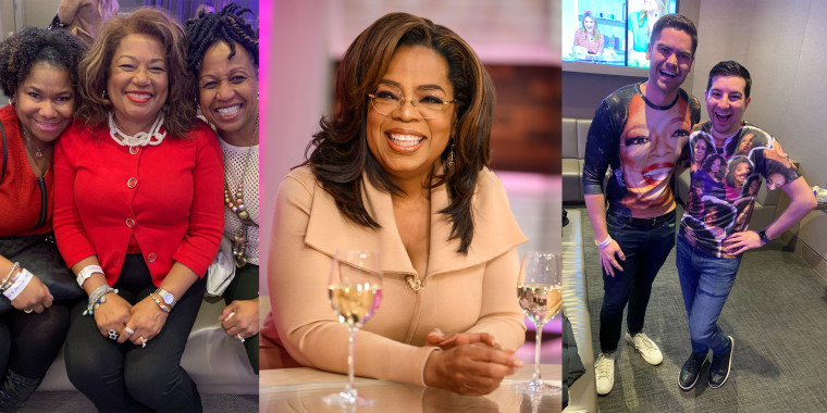 Oprah Winfrey's superfans came from all over to see the TV legend live on TODAY with Hoda & Jenna.