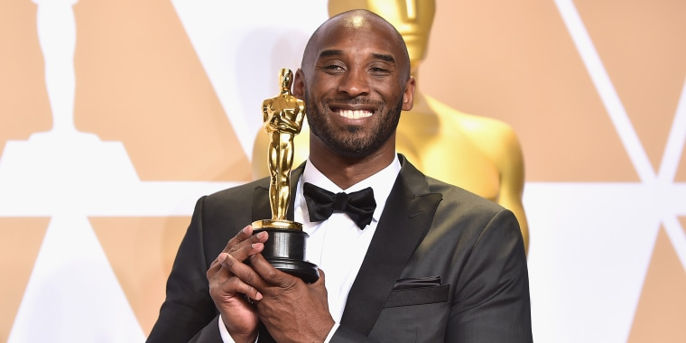 what did Kobe Bryant win an oscar for