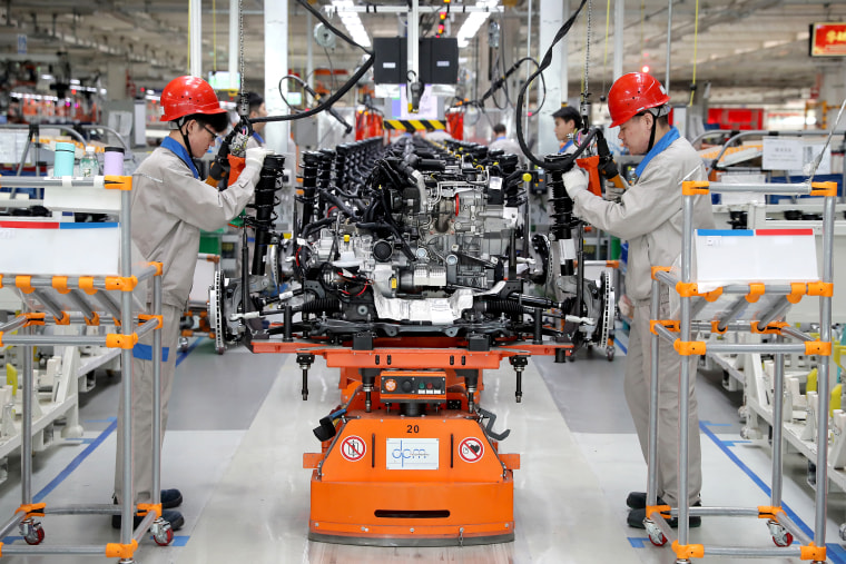 Whole-vehicle Manufacturing Base Of FAW-Volkswagen In Tianjin