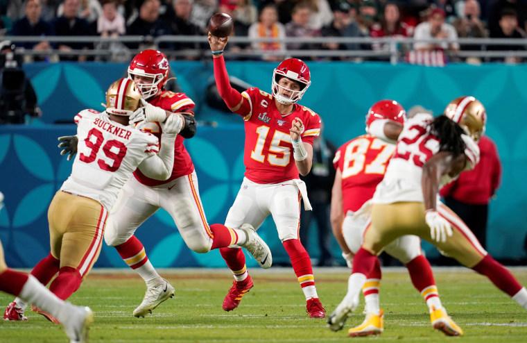 Image: FILE PHOTO: Super Bowl LIV - Kansas City Chiefs v San Francisco 49ers