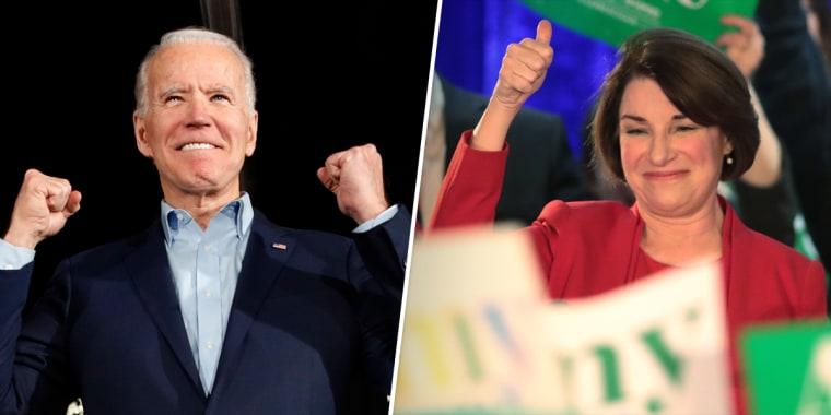 Biden and Klobuchar