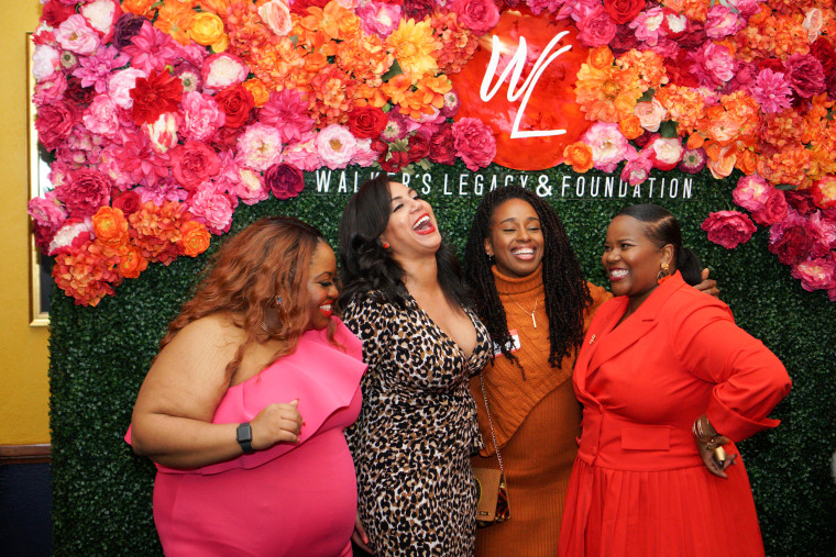 From left to right: Gaybrielle LeAnn Gant, Director of Communities and Events at Walker's Legacy; Natalie Madeira Cofield, Founder & CEO at Walker's Legacy; Ebony Andrews, National Director of Strategic Growth at GirlTrek; Rochonda Woodard, DC City Director at Walker's Legacy.