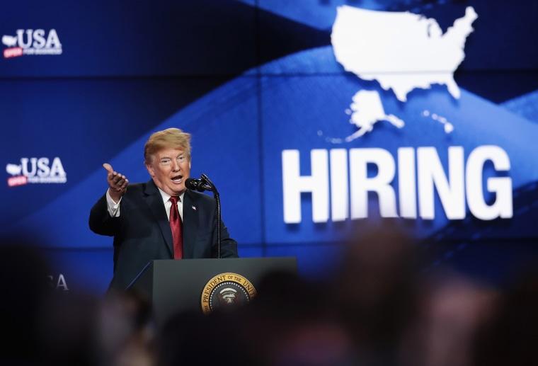 President Trump Attends Groundbreaking Of Foxconn Factory In Wisconsin
