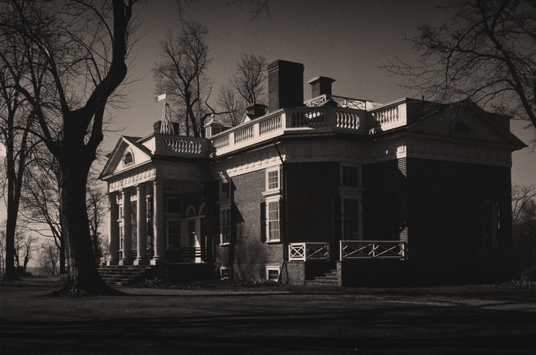 Image: Monticello, the home of Thomas Jefferson, in Charlottesville, Va., in 1943.