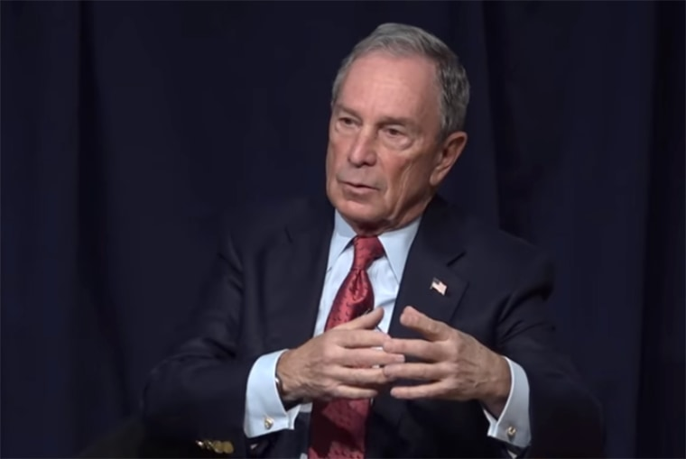 Image: Mike Bloomberg in 2016