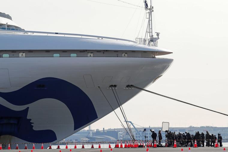 Image: The cruise ship Diamond Princess