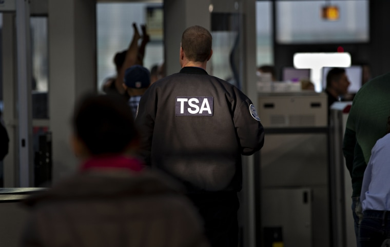 TSA agent tricked traveler into baring herself, officials say