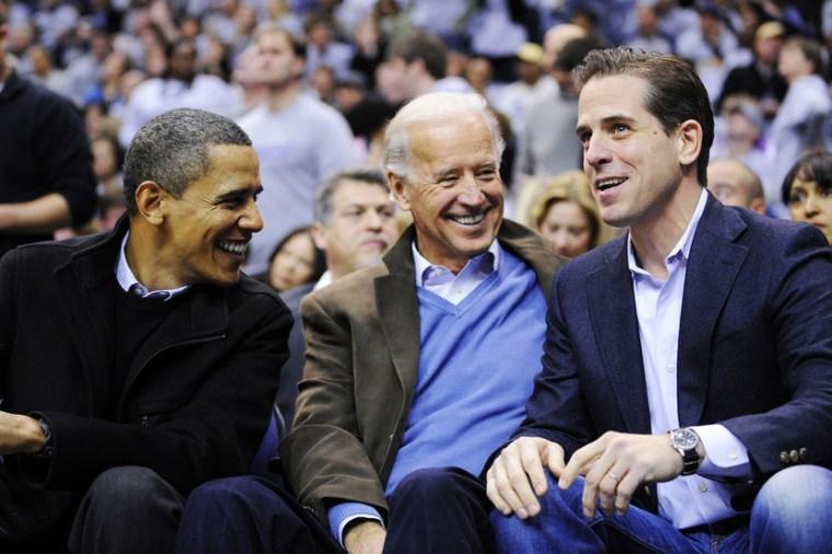 Barack Obama, Joe Biden, Hunter Biden