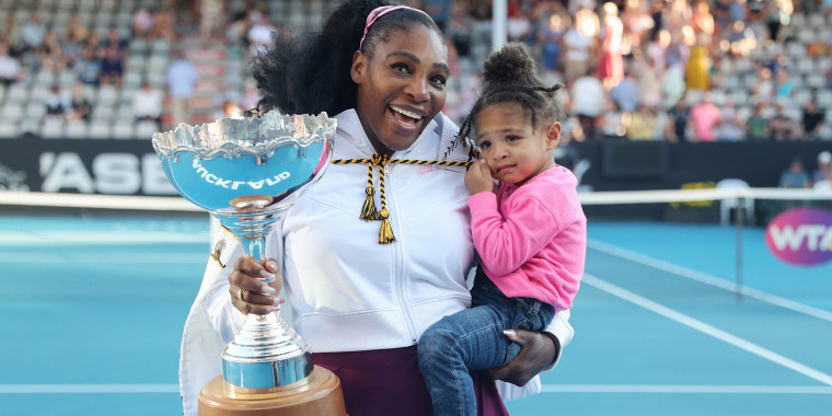Image: TENNIS-NZL-WTA