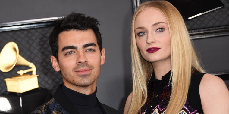 Joe Jonas and Sophie Turner at 2020 Grammy Awards