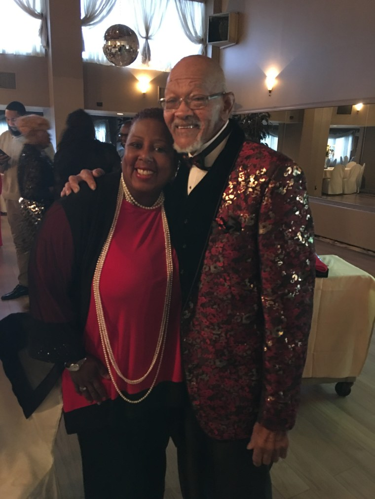 Since collapsing and learning she had fatty liver disease, Kimberly Hayes has made her health a priority. She hopes to live a long life like her uncle (right), who is 80.