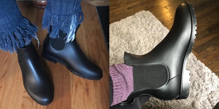 These Chelsea rain boots on Amazon are