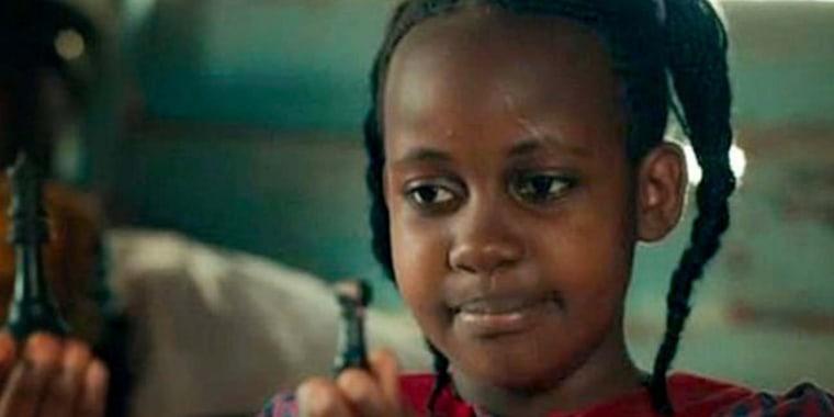 "Nikita Pearl Waligwa in Disney's ""Queen of Katwe."""