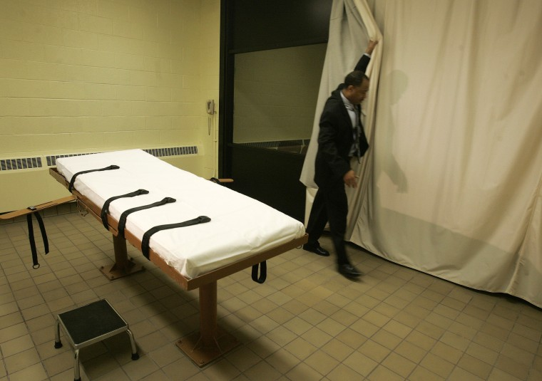 Image: Death chamber at Southern Ohio Corrections Facility