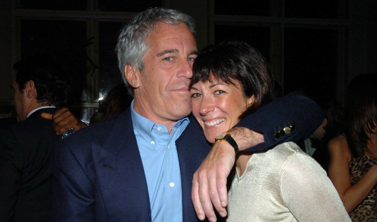 Image: Jeffrey Epstein and Ghislaine Maxwell