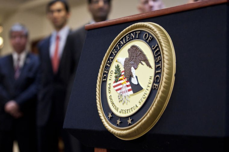 Justice Department Officials Announce Charges Against HSBC