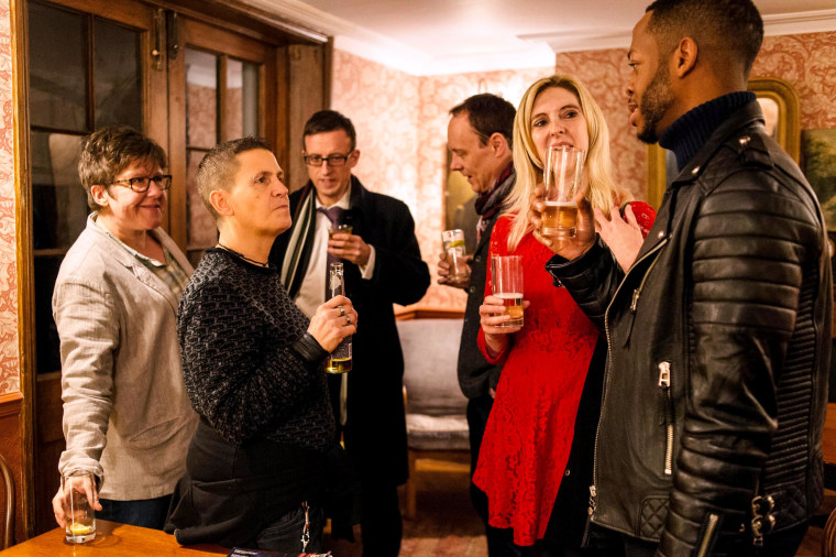 An event hosted by U.K.-based Queers Without Beers.