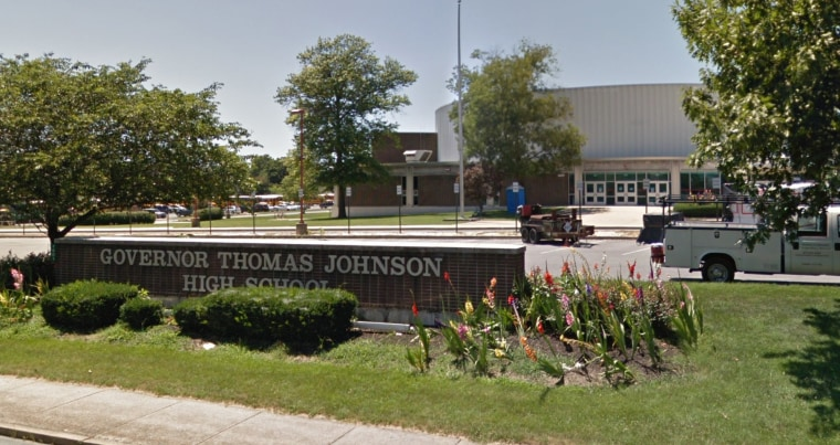 Image: Governor Thomas High School in Frederick, MD.