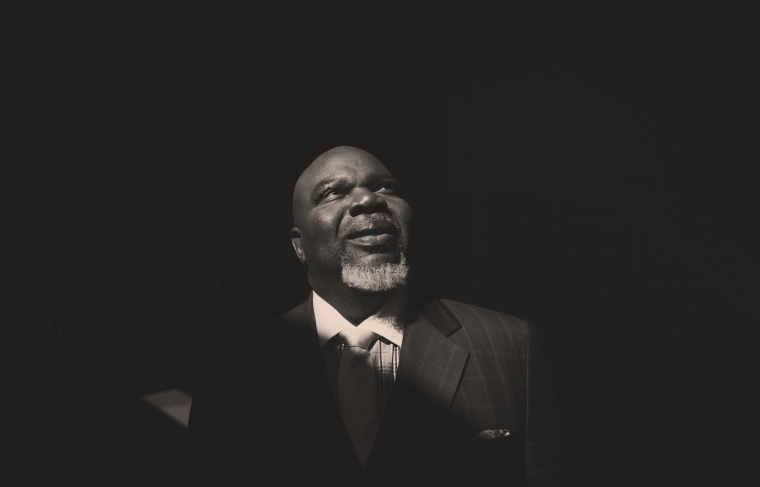 Image: Bishop T.D. Jakes at the Potters House in Dallas in 2012.