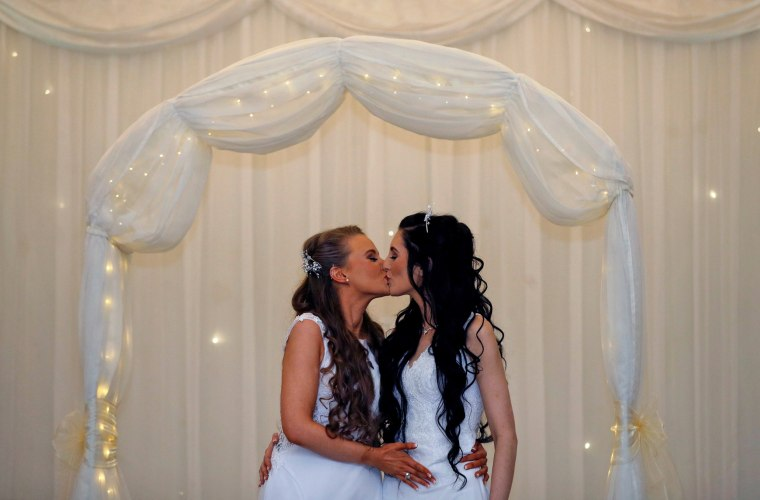 Image: First same-sex marriage takes place in Northern Ireland