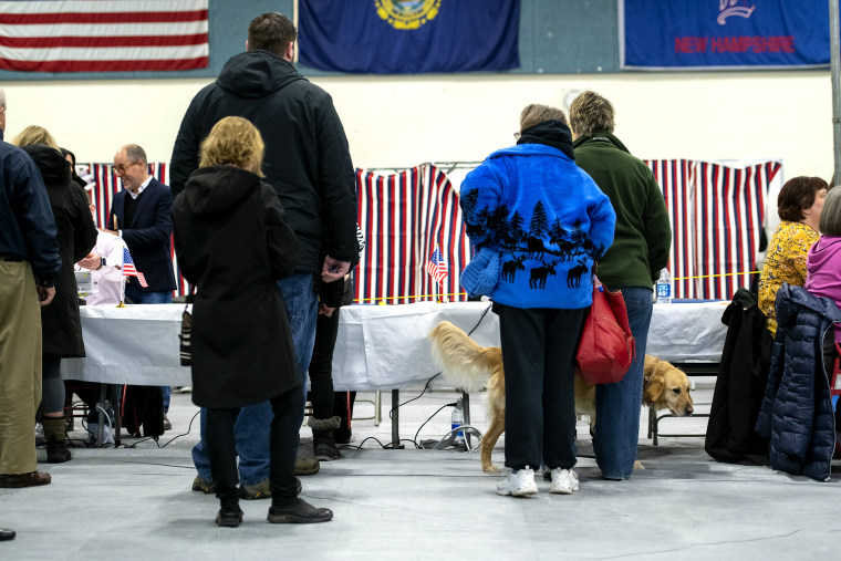 Residents Vote In The First-In-The-Nation New Hampshire Primary